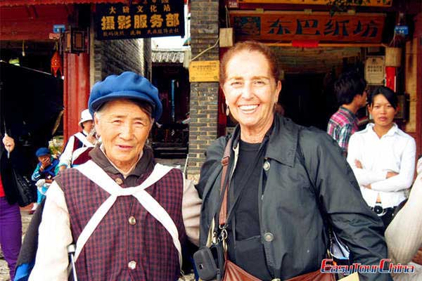 Easy Tour China Client Visiting Lijiang Old Town