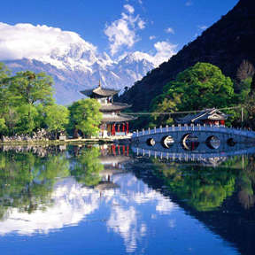 Yunnan Lijiang Black Dragon Pool