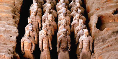 Terra-cotta Warriors at Emperor Qinshihuang's Mausoleum Site Museum