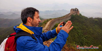 Easy Tour China Client Visit Beijing Great Wall