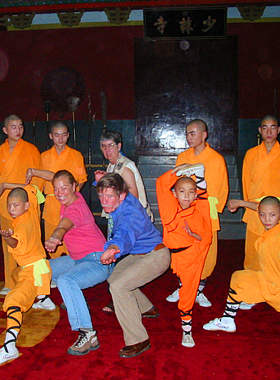Experience Kung Fu at Shaolin Temple
