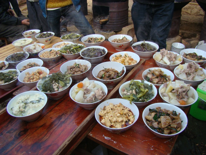 Home-cooked cuisine of Miao Minority