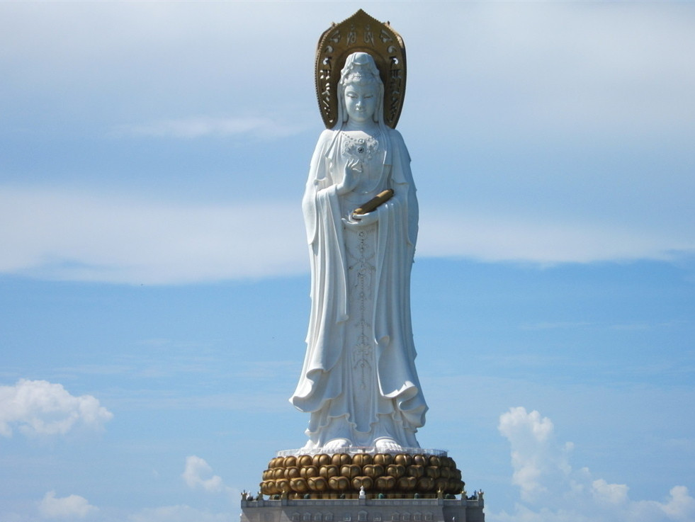 Kwan-yin Bodhisattva Statue of South China Sea in Sanya
