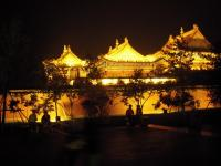 Ancient City of Dunhuang Movie Set Magnificent Night Scene