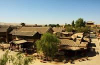 Ancient City of Dunhuang Movie Set Archaized Houses