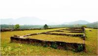 Ancient City Ruins of Han Dynasty Outline