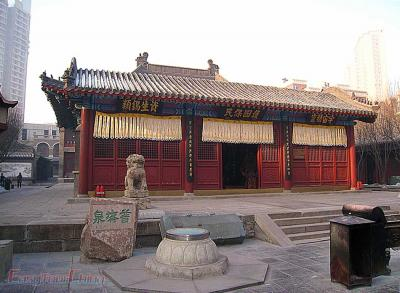 Picture of Small Temple in Tianjin Ancient Culture Street