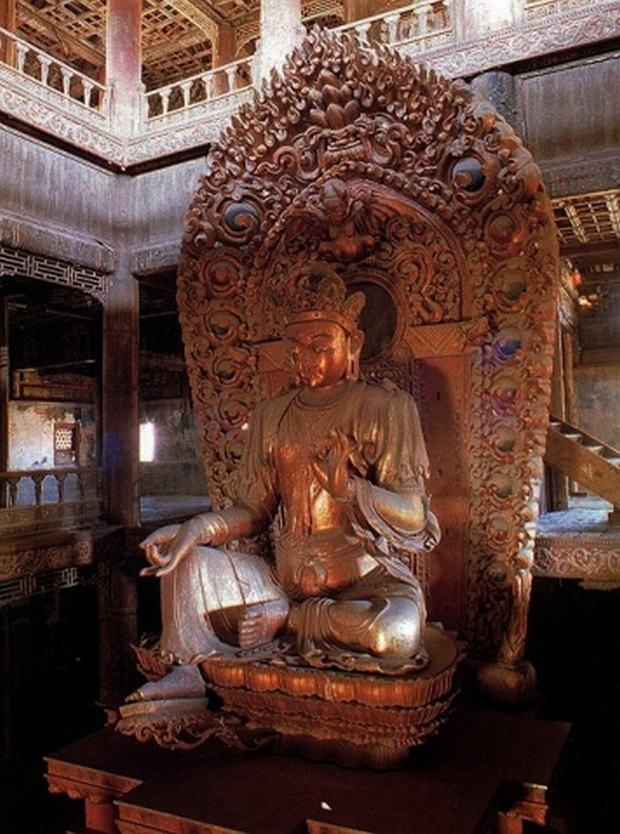 Anyuan Temple Buddhist Statue