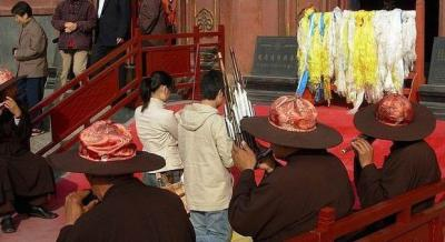 Anyuan Temple Praying