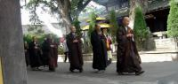 Asoka Temple Monks