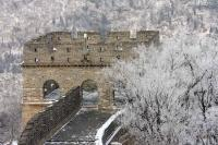 Badaling Great Wall in Depths of Winter