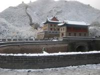 The Walkways of Badaling Great Wall in Beijing