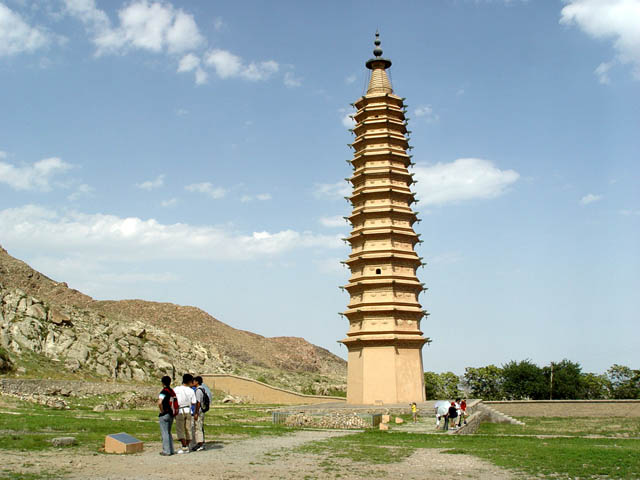 Baisikou Twin Pagodas of Western Xia period