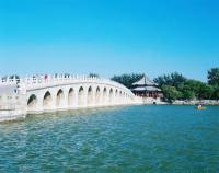 ancient bridge in beihai park