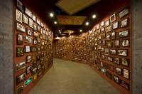 The Picture Wall of Beijing Dragon Seal Wine museum