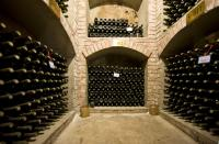 Undergroud cellar of Beijing Dragon Seal Wine winery