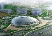 Beijing Stadiums Bird's Eye View