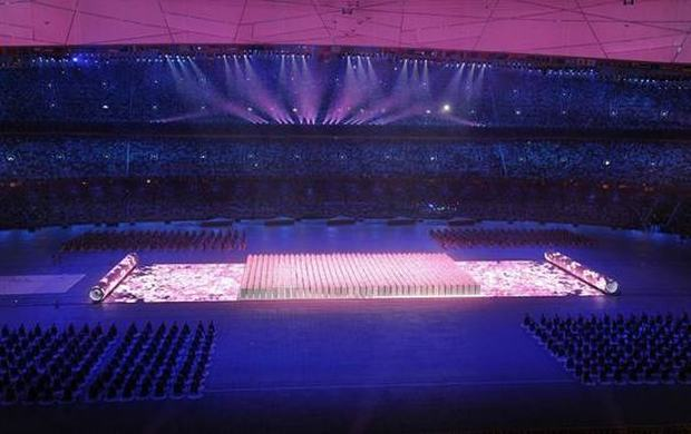 Beijing Olympic Games History Scroll