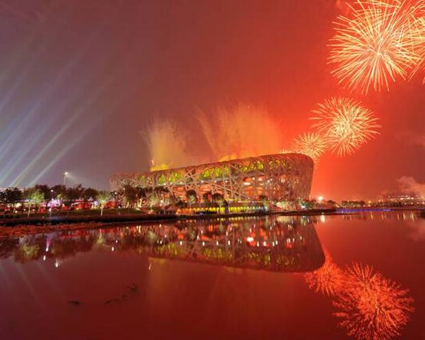 Beijing Olympic Games fireworks