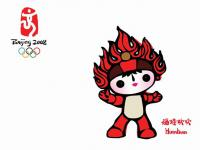 Beijing Olympic Mascots Huanhuan