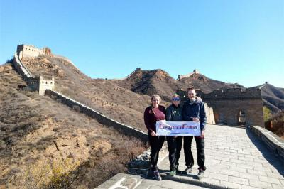 Girls Visited Jinshanling Great Wall