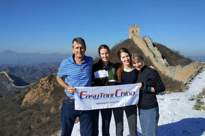 Family Trip to the Great Wall of China