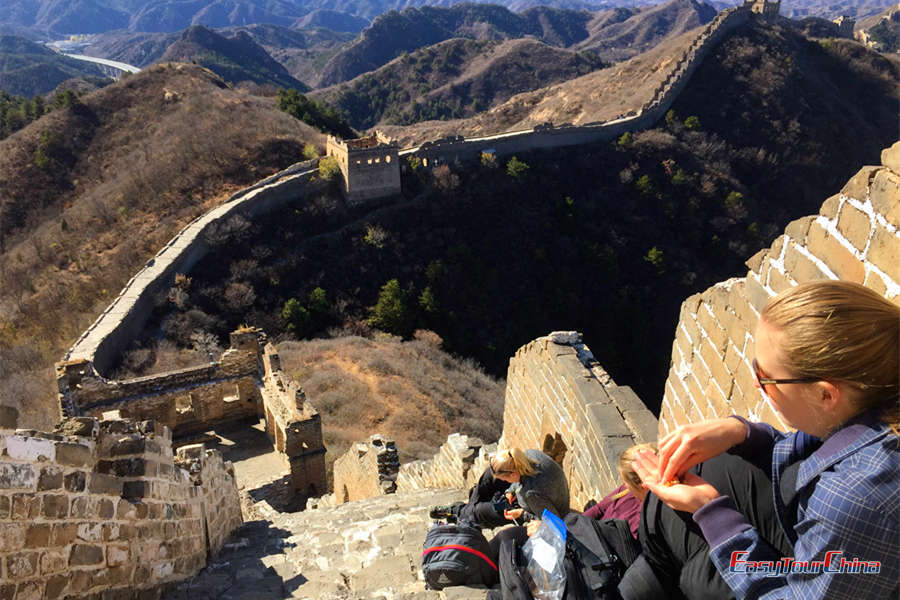 Beijing Great Wall walking