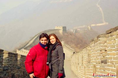 Clients Visiting Beijing Great Wall in 2012
