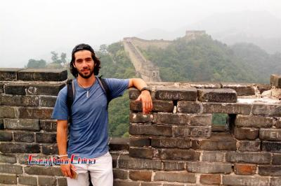 Easy Tour China Client Visiting Beijing Great Wall