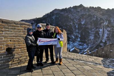 Travel to the Great Wall in Winter