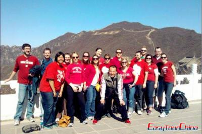 Student Tour to Mutianyu Great Wall in 2012