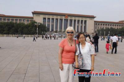 New Zealand Customer Visiting Beijing Tiananmen Square