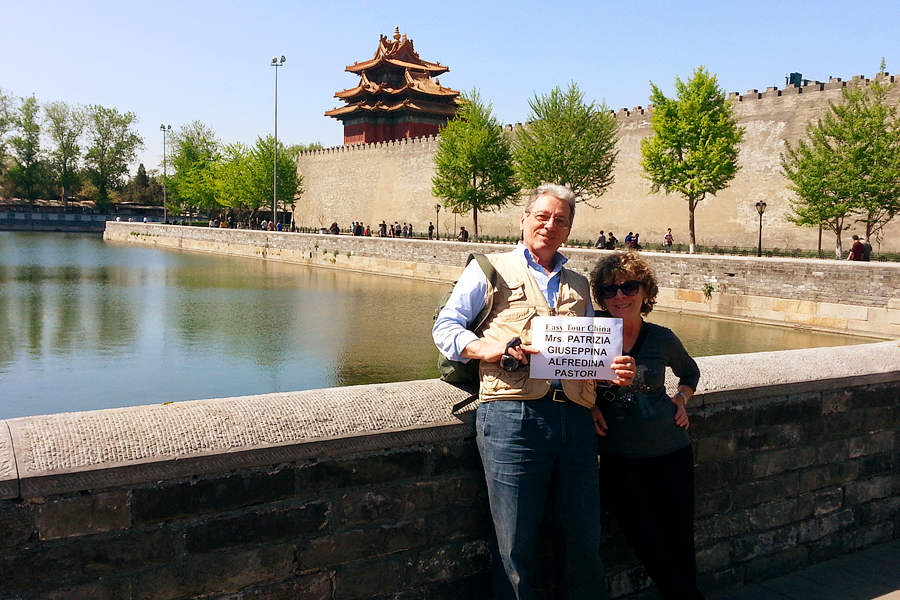 Italian Couple Travel in Beijing in 2013