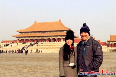 Irish Clients Visited Beijing Forbidden City in 2017
