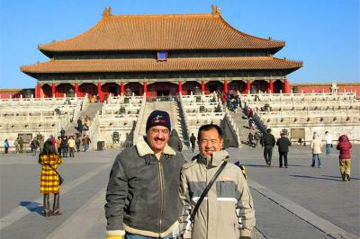 Client Visit Forbidden City