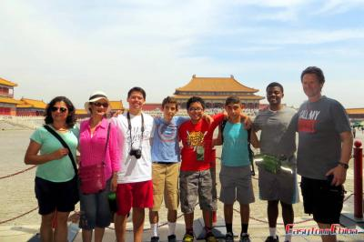 Students' Tour to Beijing Forbidden City in 2015
