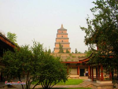 Big Wild Goose Pagoda and Ci'en Temple