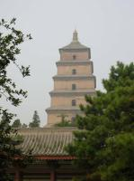 A Scene From Big Wild Goose Pagoda