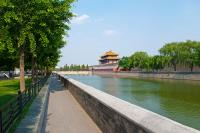 Bike Forbidden City Moat of Beijing