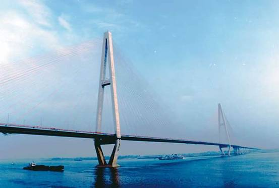 Wuhan Changjiang 3rd Bridge