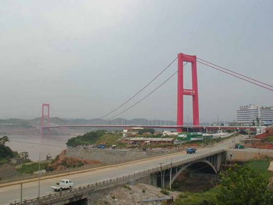 Wanzhou 2nd Changjiang Bridge