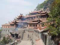 Travel Photos of Chinese Majestic Buddhist Monastery
