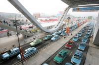 Parking lot of Canton Fair