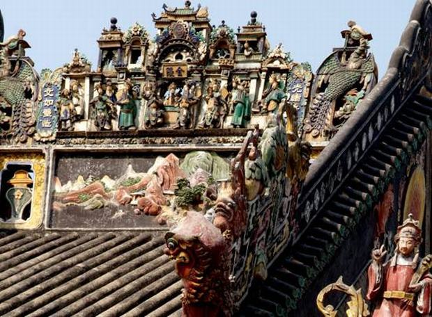 Chen Family Temple Figurines