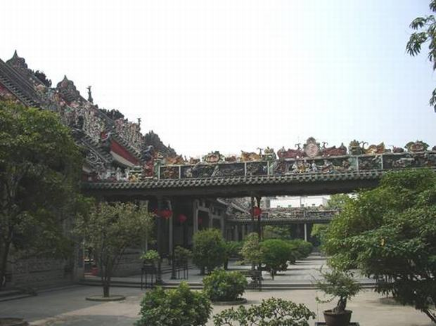 Chen Family Temple Courtyard