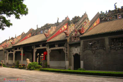 Chen Clan Temple Facade