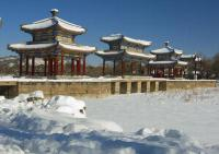 Chengde Mountain Resort snowscape