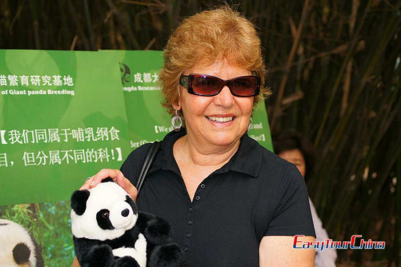 Visit Chengdu Panda Base and meet giant panda