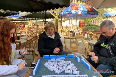 Play Mahjong in Chengdu