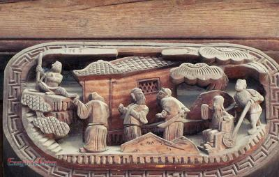 Wood Carving Architecture of Chengkan Village